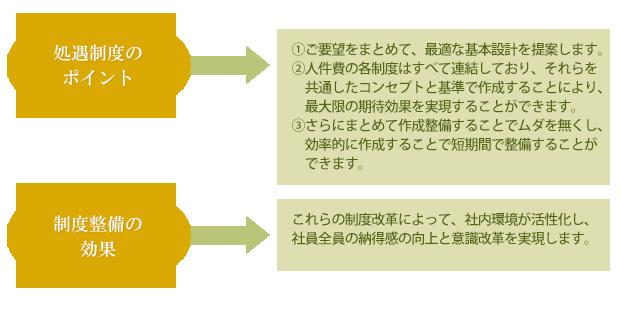 制度整備のコンサルティングの概要